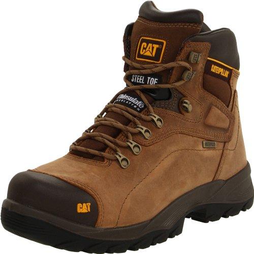 Caterpillar Men's Diagnostic Hi Waterproof Steel Toe Work Boot
