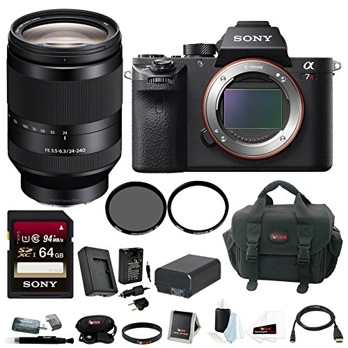 Sony α7R II Full-frame Mirrorless Interchangeable-Lens Cameras