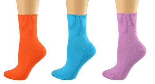 Sierra Socks Health Diabetic Arthritic Cotton Cushioned Sole