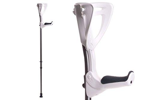 Ergotech Lightweight Forearm Crutches By FDI