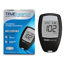True Balance's Glucose meter