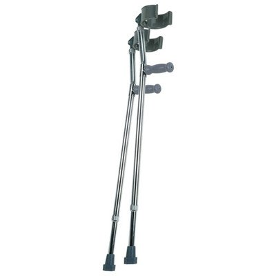 Lumex 6341A Deluxe Forearm Crutches Large