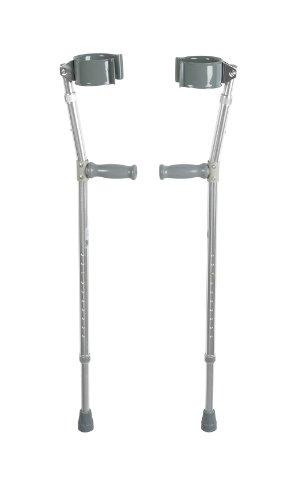 Drive Medical Heavy Duty Bariatric Steel Forearm Crutch