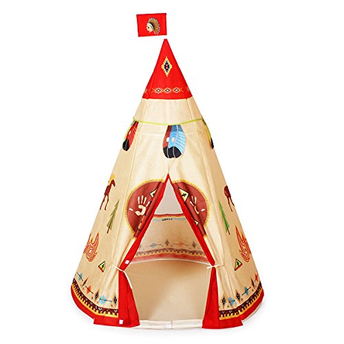 Ylovetoys Kids Play Tent Indian Teepee