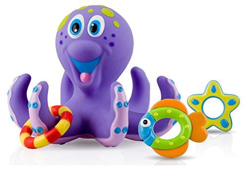 Nuby Octopus Hoopla Bathtime Fun Toy
