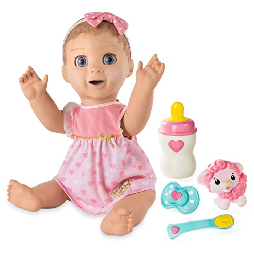 Spinmaster Luvabella Responsive Baby Doll with Realistic Expressions and Movement