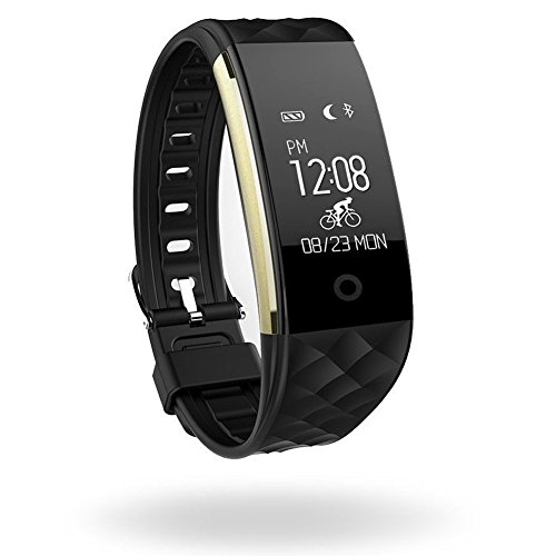 Heart Rate Fitness Tracker, Wireless Smart Bracelet