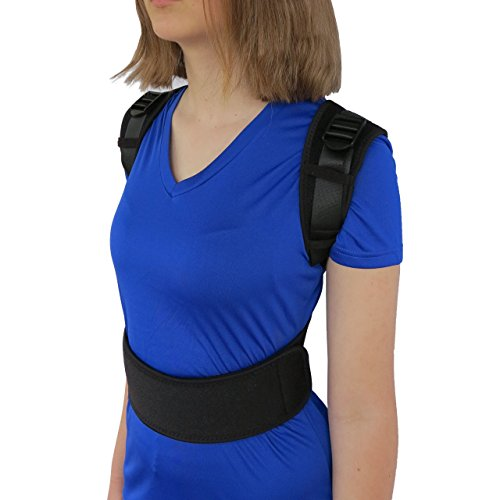 Posture Corrector Clavicle Support Brace From ComfyMed Model No. CM-PB16