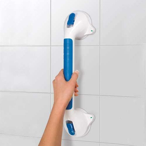 MareLight Strong Suction Ultra Grip Bathroom Shower Wall Suction Grab Safety Grab Rail