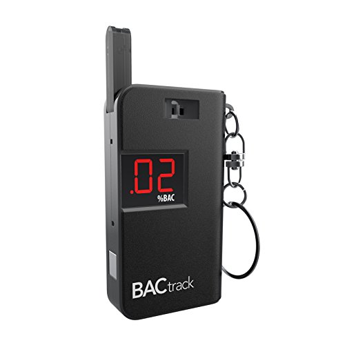 A Handy Keychain Breathalyzer Portable Breath Alcohol Tester From BACtrack.