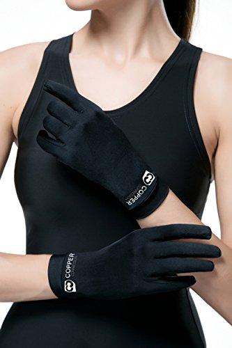Copper Compression Full Finger Arthritis Gloves