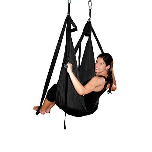 AGPtEK Deluxe Aerial Hammock Yoga Swing