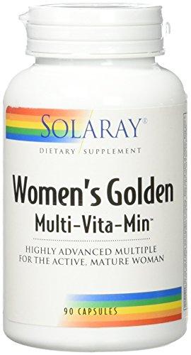 Solaray Golden Women's Multivitamin