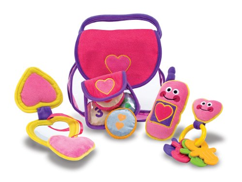 Melissa and Doug Pretty Purse Fill and Spill Soft Play Set
