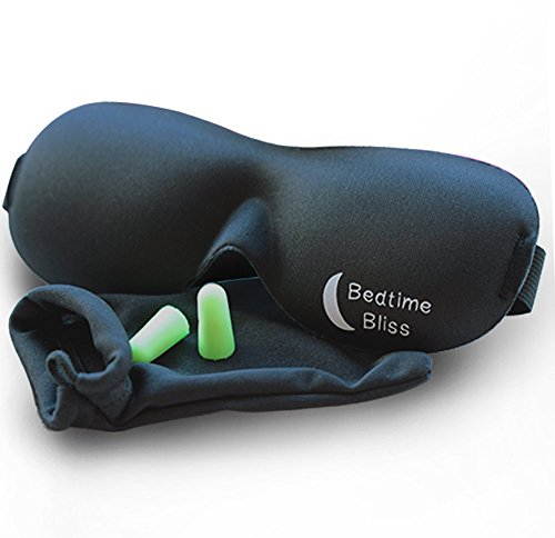 Bedtime Bliss BTB01 Contoured Sleep Mask
