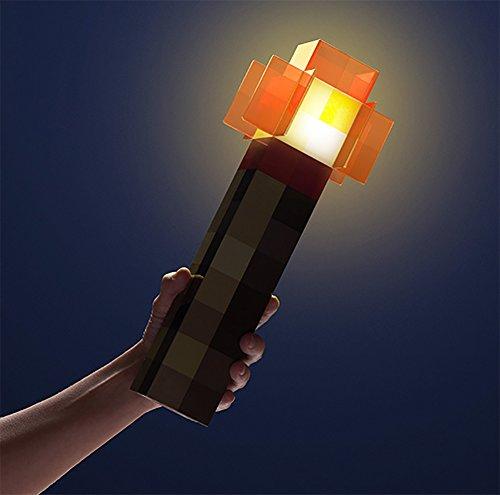 ThinkGeek Minecraft Redstone Light-Up Wall Torch Toy