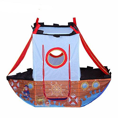 Boy's Pirate Ship Play Tent