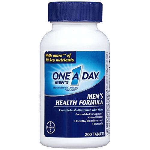 One-A-Day Multivitamin Men's Health Formula 200 Tablet Bottle