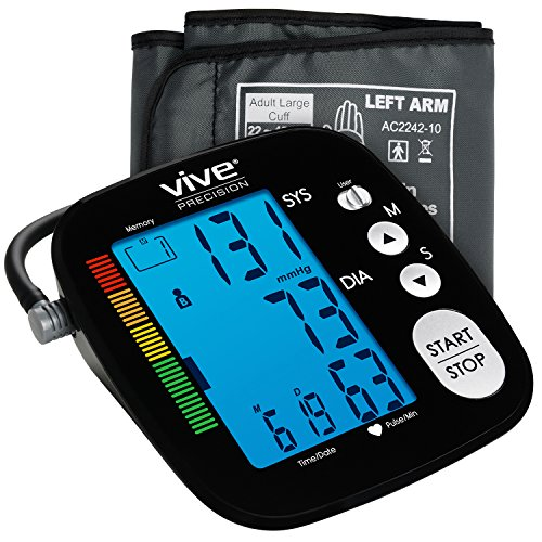 Blood Pressure Monitor by Vive Precision - Ideal for home use