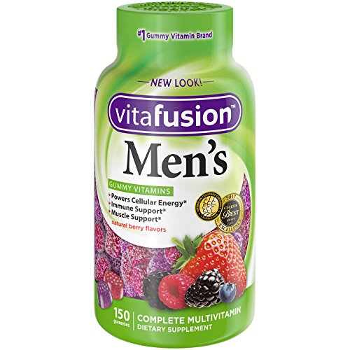 Vitafusion Men's Gummy Vitamins 150 Count