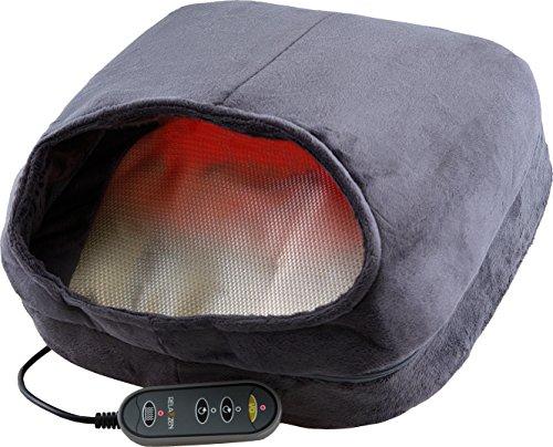 Relaxzen 60-3020 Shiastu Foot Massager with Heat