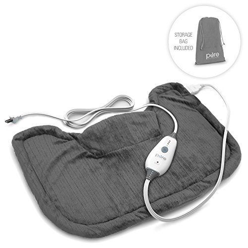 PureRelief Neck & Shoulder Heating Pad - Easing Shoulder Pain Instantly