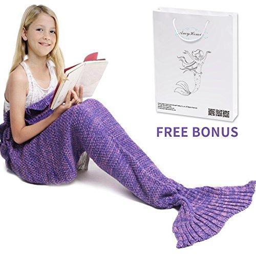 Amyhomie Mermaid Blanket