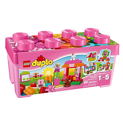 LEGO DUPLO All-in-One Pink Box of Fun