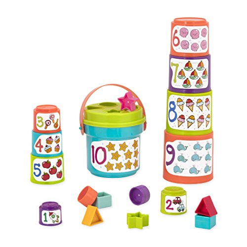Battat Sort and Stack Learning Toy for Kids