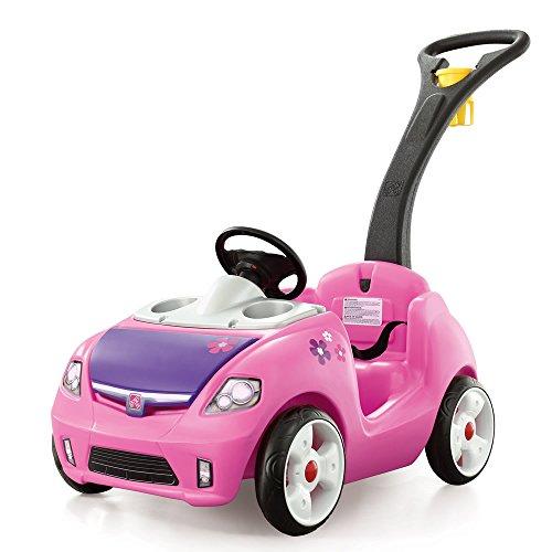 Whisper Ride II Ride On Push Car, Pink