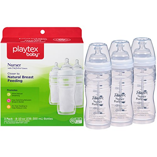 Playtex Baby Bottle - Nurser Comes with Drop-Ins Disposable Liners