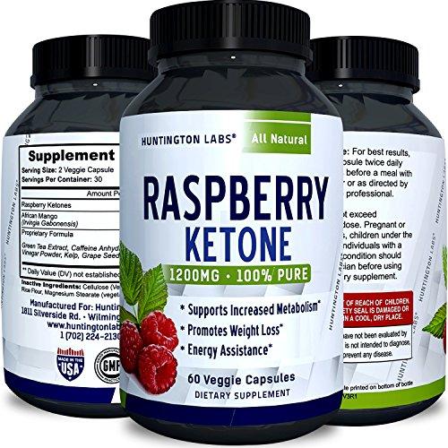 Huntington Labs Raspberry Ketone Supplement