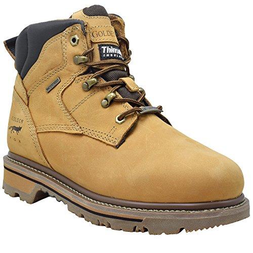 Golden Fox Waterproof Thinsulate Work Boots Men's 6