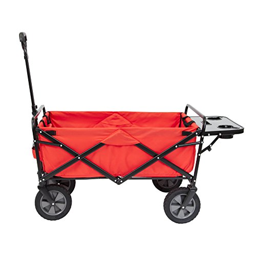 Mac Sports Folding Wagon with Side Table