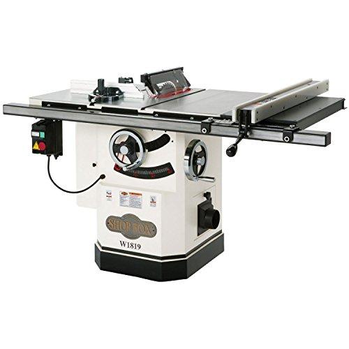 Shop Fox W1819 3 HP 10-Inch Table Saw