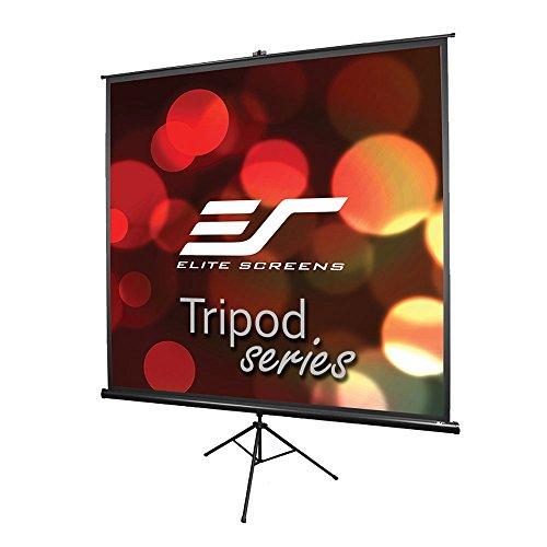 Elite Screens Tripod Series 85-Inch 1:1, Portable Indoor Outdoor Projector Screen