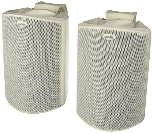 Polk Audio Atrium Outdoor Speakers.
