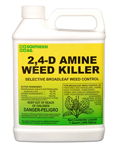 Southern Ag 2, 4-D Amine Weed Killer Selective Broadleaf Weed Control