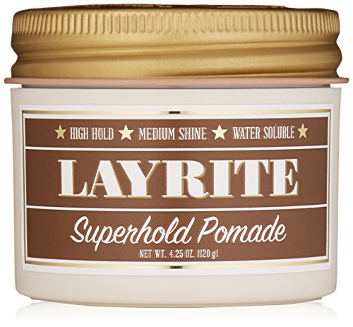 Layrite Pomade, Super Hold Pomade, 4.25 Ounce