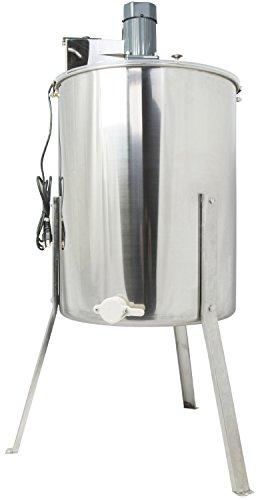 Pro Electric 2//4 Frame Stainless Steel Honey Extractor Beekeeping Equipment Drum