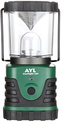 AYL StarLight - Water Resistant - Shock Proof - Battery Powered Ultra Long Lasting Up To 6 DAYS Straight - 600 Lumens Ultra Bright LED Lantern