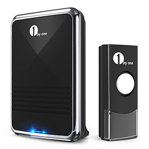 1byone Easy Chime Wireless Doorbell Kit
