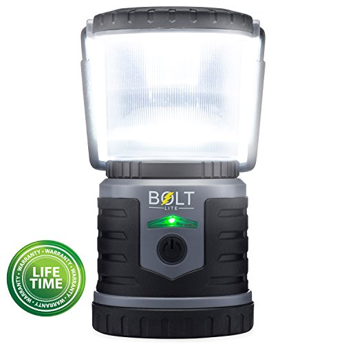 Rechargeable LED Lantern Bright Light for Camping, Emergency Use, Outdoors, and Home- Lasts for 250 Hours on a Single Charge