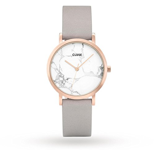 CLUSE La Roche Petite 33mm Analog Display Quartz Watch, Leather Band