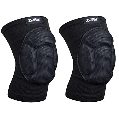Luwint Basketball Volleyball Knee Pads - Ideal for Gardening Cleaning Weightlifting Fitness Sports