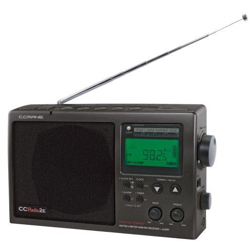C. Crane CCRadio-2E Enhanced Portable AM FM Weather and 2-Meter Ham Band[
