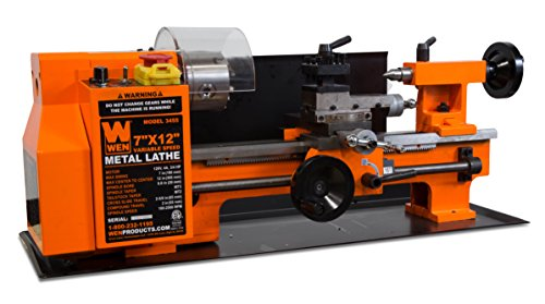 The Grizzly Benchtop Metal Lathe