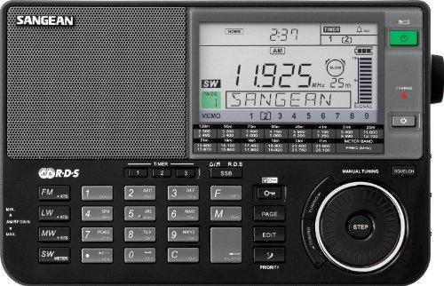 Sangean ATS-909X BK AM/FM/LW/SW World Band Receiver
