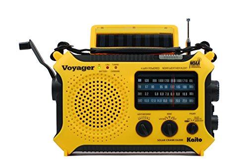 Kaito KA500 5-way Powered Solar Power Radio