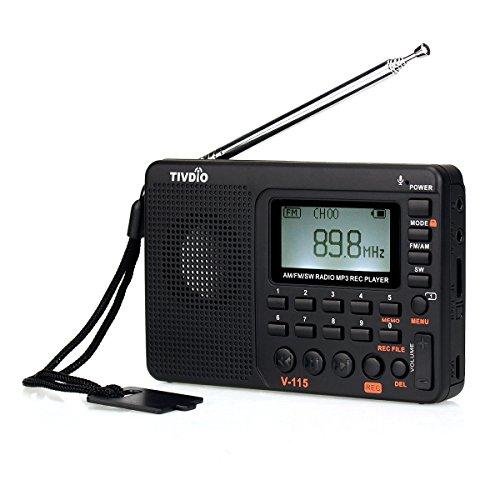 TIVDIO V-115 Portable Shortwave Transistor Radio